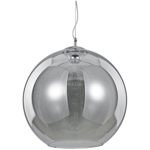 Подвесной светильник Ideal Lux Nemo SP1 FUME` D40 макс.60Вт Е27 IP20 230В Серый Стекло 094229 светильник ideal lux emis sp1 d40