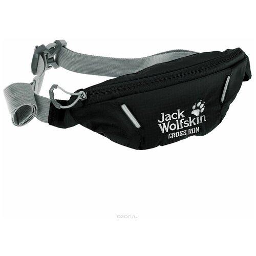 Сумка для бега Jack Wolfskin Cross Run (цвет: Black) трекинговый рюкзак jack wolfskin halo 24 corona lime