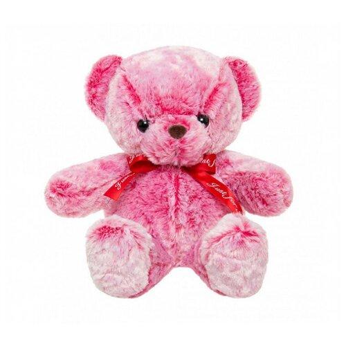 Мягкая игрушка Tomato Мишка с бантиком, розовая 40 см