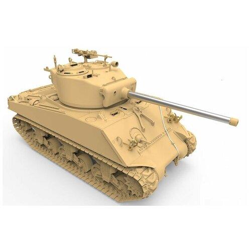 realts voyager models 1 35 modern russian t 90 dozer basic detail set for meng ts 014 TS-043 Сборная модель MENG 'танк' M4A3(76)W Sherman 1/35