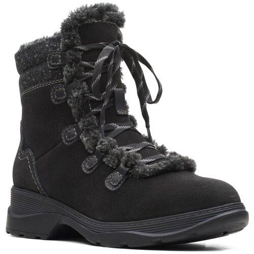 Ботинки Clarks , размер 35.5 , black туфли clarks clarks cl567ambuup3