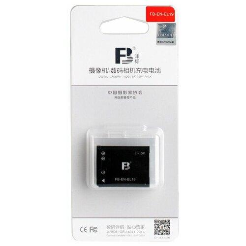Фото - Аккумулятор FB EN-EL19 для Nikon Coolpix S2500, S2600, S3100, S4100, S3300 аккумулятор fb en el1 для nikon coolpix 4800 5000 5400 5700 8700