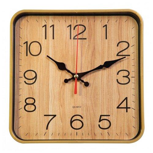 Настенные часы Бюрократ WallC-S62P бежевый (wallc-s62p19/beige)