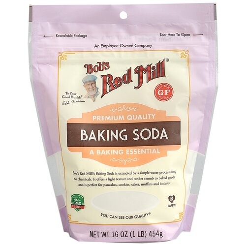 Сода Американская Пищевая Премиального качества Bob's Red Mill, Gluten Free, Vegan, Non GMO, 454 г.