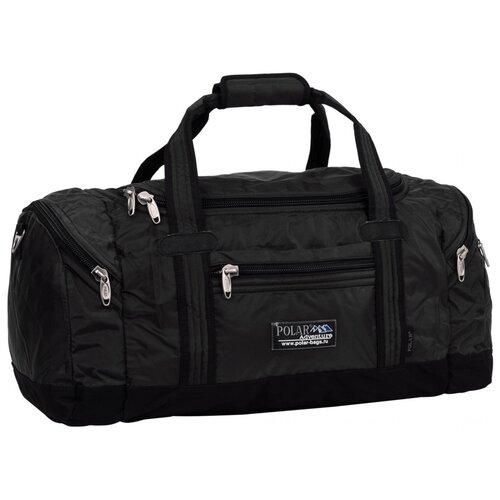Спортивная сумка Polar, П808В черная сумка polar polar po001bwfyur2