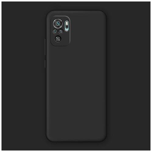Фото - Матовый силиконовый чехол для Xiaomi RedMi Note 10 Pro с покрытием софт-тач черный защитный чехол pero для xiaomi redmi 5 софт тач черный