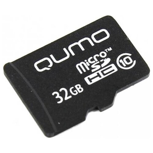 Карта памяти 32Gb - Qumo MicroSDHC SecureDigital Class 10 QM