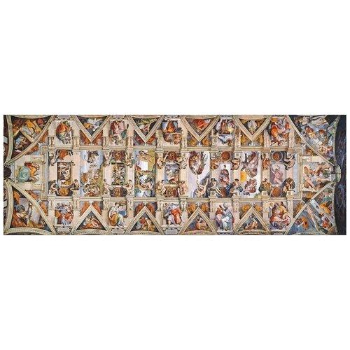 Пазл Clementoni 1000 деталей: Микеланджело. Сикстинская капелла