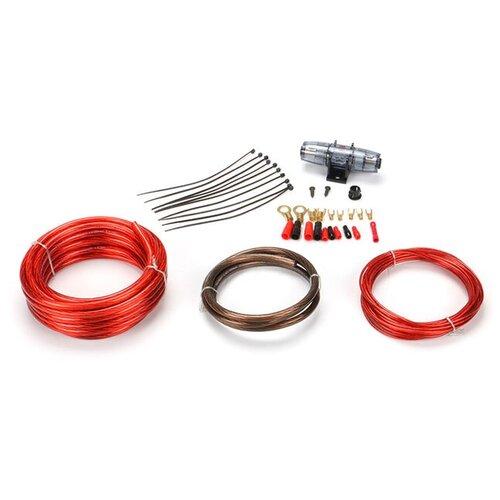 Профессиональный комплект кабелей и аксессуаров для установки автомобильного усилителя URAL урал молот К-МТ8