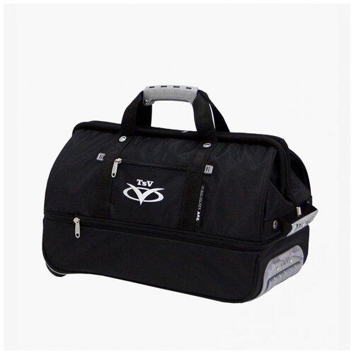 Дорожная сумка-саквояж TsV 514.32 чёрная с колёсами 138512