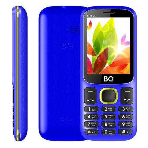 Сотовый телефон BQ 2440 Step L+ Blue-Yellow