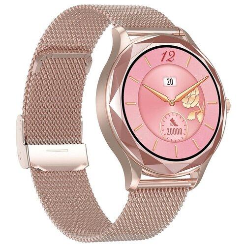 Часы Smart Watch DT86 GARSline золотистые (ремешок золотистый металл)