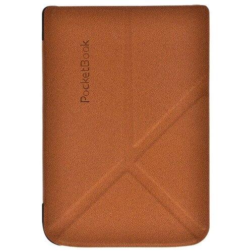 Обложка для электронной книги PocketBook 606/616/627/628/632/633, коричневая [PBC-627-BRST-RU]