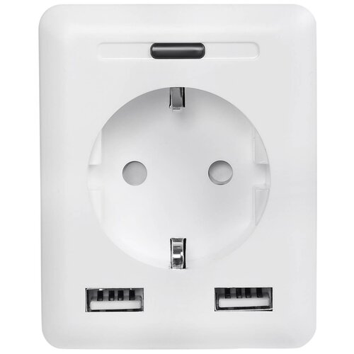 Умная розетка Digma DiPlug 500 EU Wi-Fi, белый (TY1910) digma diplug 400 eu ty1932 white