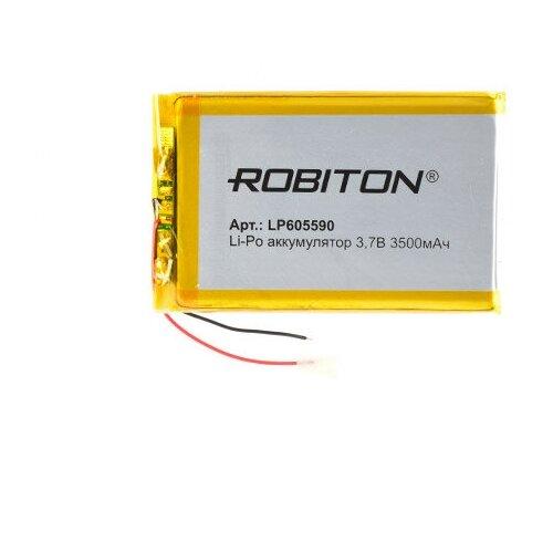 Фото - Аккумулятор ROBITON LP605590 3.7В 3500mAh аккумулятор robiton lp501335