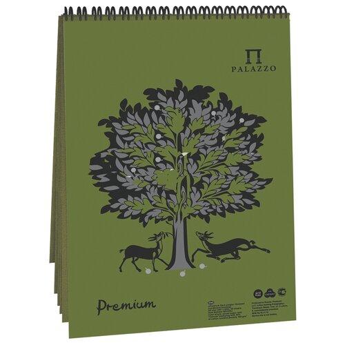 Фото - Скетчбук для пастели Лилия Холдинг Premium Dark jungle 29.7 х 21 см (A4), 160 г/м², 30 л. блокнот для пастели лилия холдинг blackberry 21 х 14 8 см a5 160 г м² 30 л