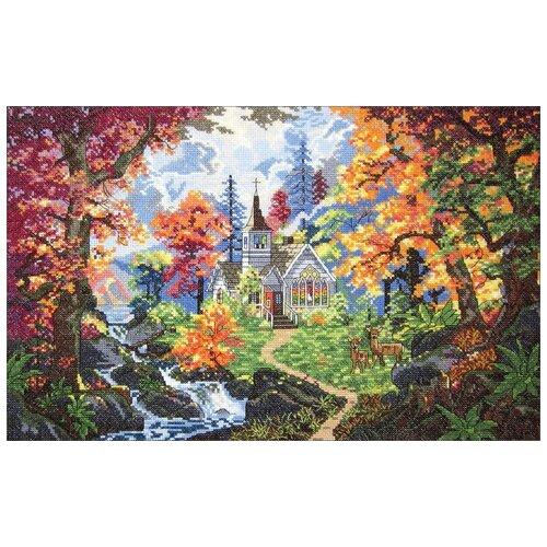 Купить Набор для вышивания Часовня Надежда DESIGN WORKS, 28 х 40, 5 см 7009, Наборы для вышивания