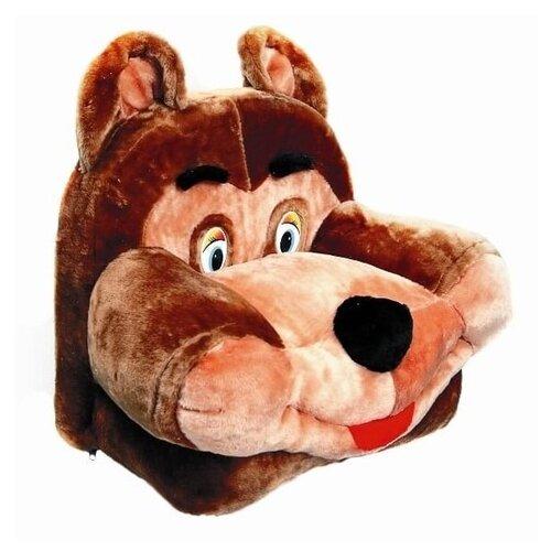 Аймид 355 Кресло Медведь коричневый 52*30*52 см