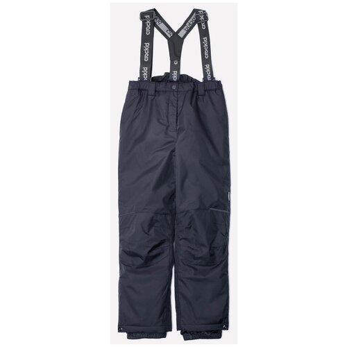 Брюки crockid ВК 40003 размер 122-128, 12 темно-серый брюки playtoday classic girls 394424 размер 122 темно серый