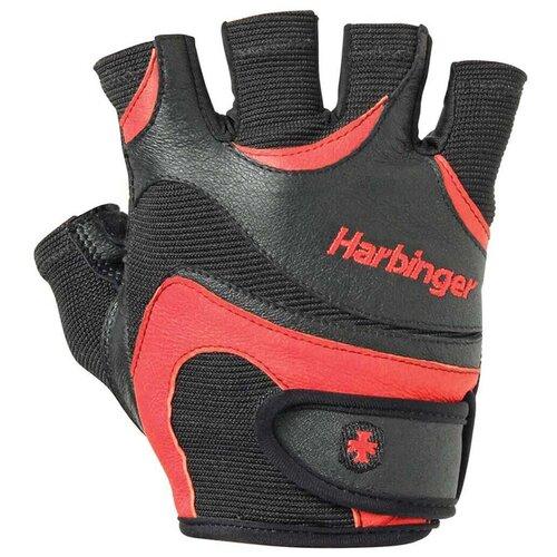 Перчатки Harbinger FlexFit, мужские, красные, размер M женские перчатки harbinger flexfit размер s черные