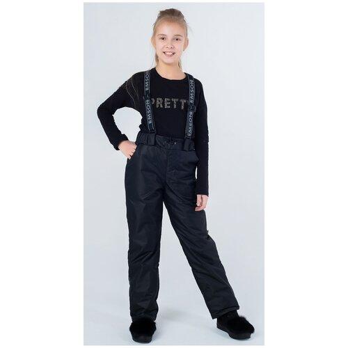 Купить Брюки EMSON размер 164, черный, Полукомбинезоны и брюки