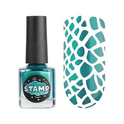 Купить Irisk, Stamp Chrome - лак-краска для стемпинга №010, 8 мл, Irisk Professional