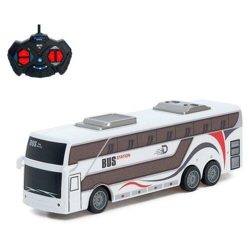 Фото - Автобус радиоуправляемый Междугородний, работает от батареек 6252989 автобус сима ленд 1011448 25 см желтый