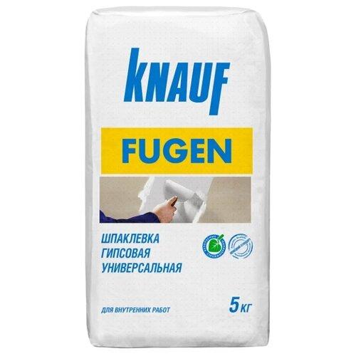 Шпатлевка KNAUF Фуген, бело-серый, 5 кг