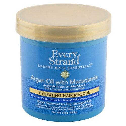 Маска для волос `EVERY STRAND` с маслом арганы и макадамии (в банке) 425 г  - Купить