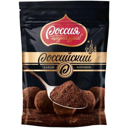 Россия - Щедрая душа! Российский Какао-порошок для варки, 100 г