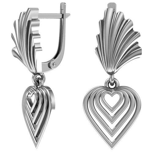 POKROVSKY Серебряные серьги 2101019-00245 pokrovsky серебряные серьги 2121129 00245