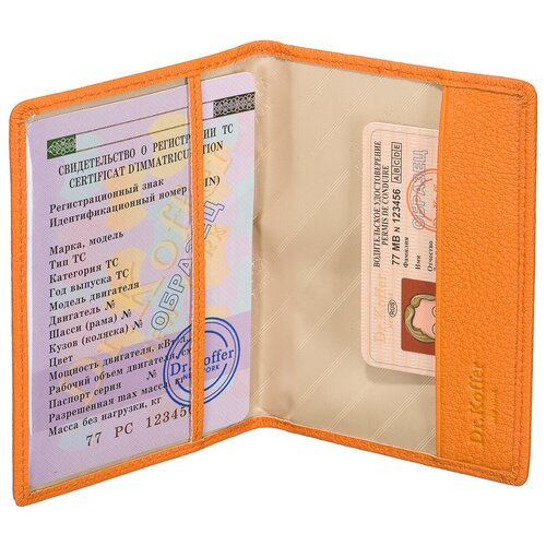Др.Коффер X510130-170-58 обложка для паспорта