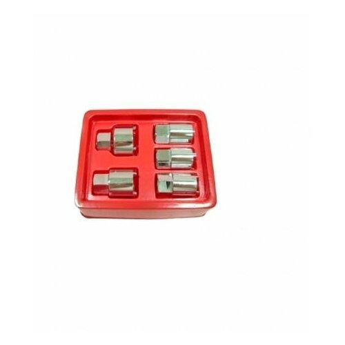 Фото - Набор головок для разбора стоек 5 предметов AV Steel набор проходных головок av steel av 011029 1 4 29 предметов