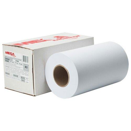 Фото - Бумага широкоформатная ProMEGA engineer 80г 297ммх175м 76мм широкоформатная бумага epson