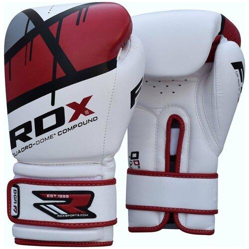 Перчатки боксерские RDX BOXING GLOVE BGR-F7 RED красный искусственная кожа цвет красный размер 12oz