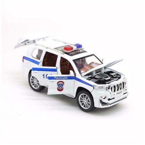 Модель машины TY YX24101P ДПС Прада Полиция Белый 20*6,5 см.
