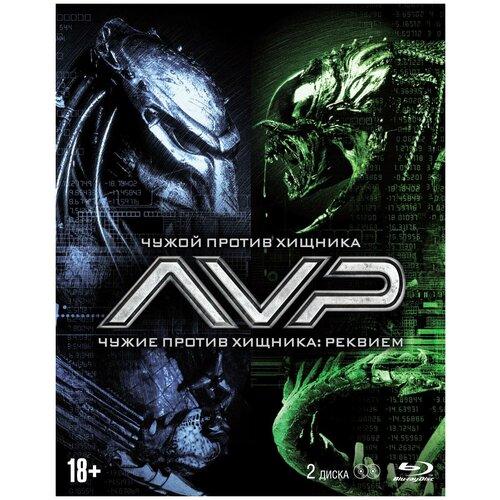 Чужой против Хищника / Чужие против Хищника: Реквием. Коллекционное издание (2 Blu-ray)