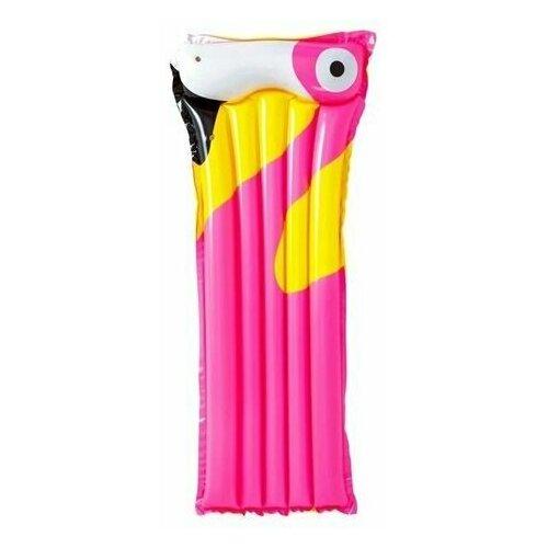 Надувной матрас для плавания Фламинго, розовый, 183х76 см, BestWay