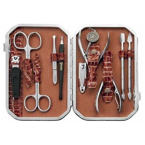 Фото - Маникюрный набор Zinger MSFC-804 SM, с книпсером, 10 предметов маникюрный набор с косметичкой zinger ms 1205 804 s 10 предметов