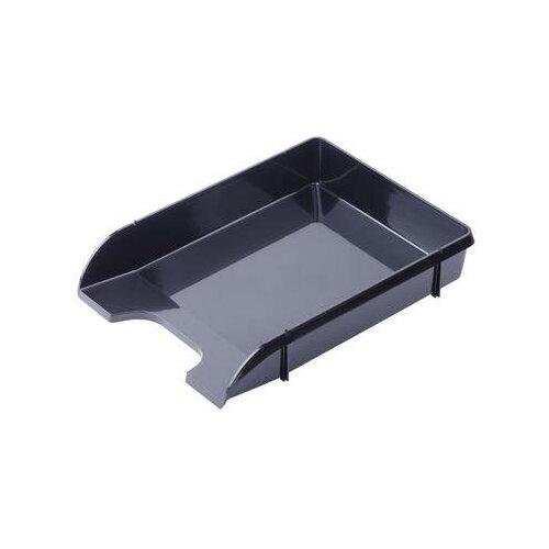 Купить Лоток для бумаг горизонтальный Attache Loft HDF черный 2 шт., Лотки для бумаги