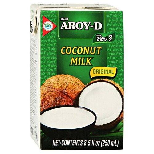Фото - Молоко Кокосовое Aroy-D 70%, жирность 17-19%, 0,25 л 2 шт. aroy d масло 100% кокосовое extra virgin 0 18 л