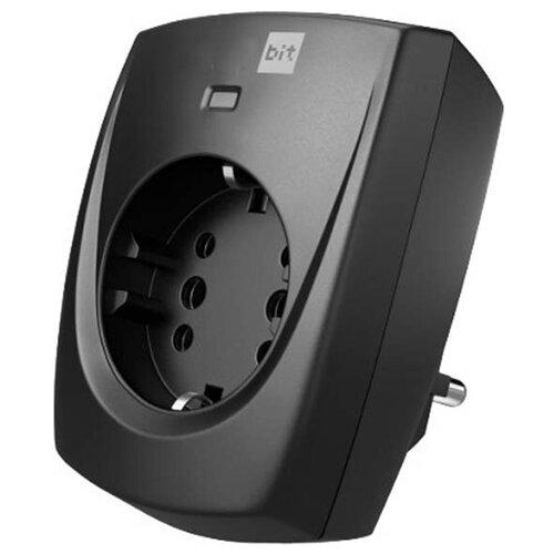 Фото - Сетевой фильтр Zis Pilot Bit GP 1/2 Sockets Black 137 сетевой фильтр zis pilot pro gp 6 sockets 7m grey