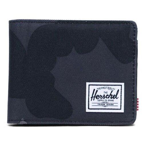 Кошелек Herschel Hank Leather Rfid NIGHT CAMO
