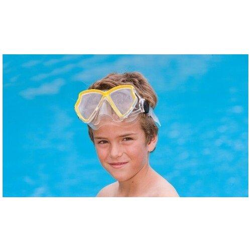 Фото - Силиконовая маска для плавания INTEX Авиатор Pro (55980) набор для плавания intex aqua pro серый