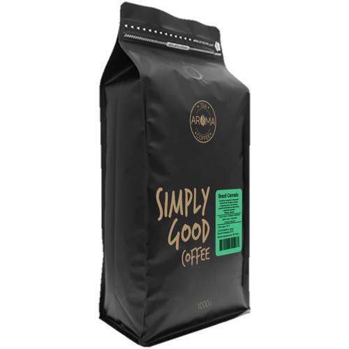 Кофе в зернах Бразилия Серрадо (Вес-1000гр.)