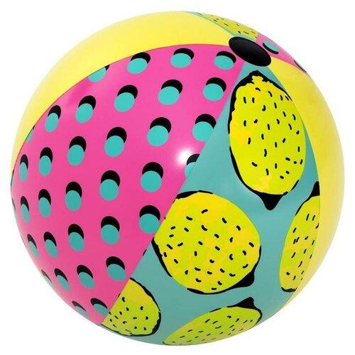 Мяч надувной пляжный «Ретро», 122 см, 31083 Bestway надувной мяч пляжный поп арт 91 см bestway арт 31044