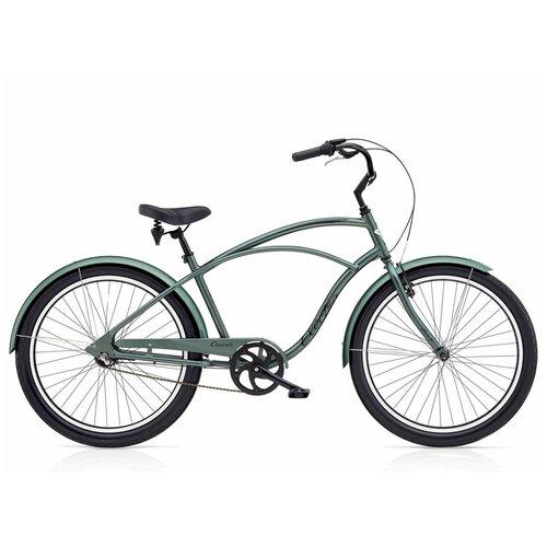 Велосипед городской Electra Cruiser Lux 3i Anthracite mens(В собранном виде)
