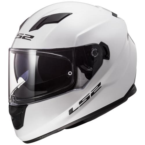 Шлем LS2 FF320 STREAM EVO Gloss White (XS, Gloss White)