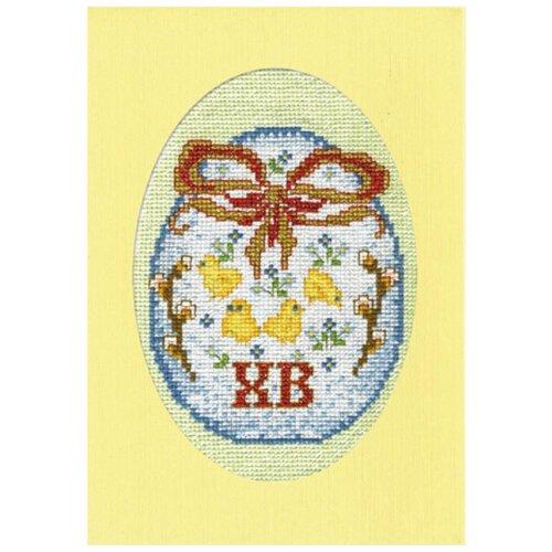Набор для вышивания, открытка Светлый праздник 11 х 16 см МАРЬЯ ИСКУСНИЦА 10.005.02 набор для вышивания марья искусница 11 001 24 испания