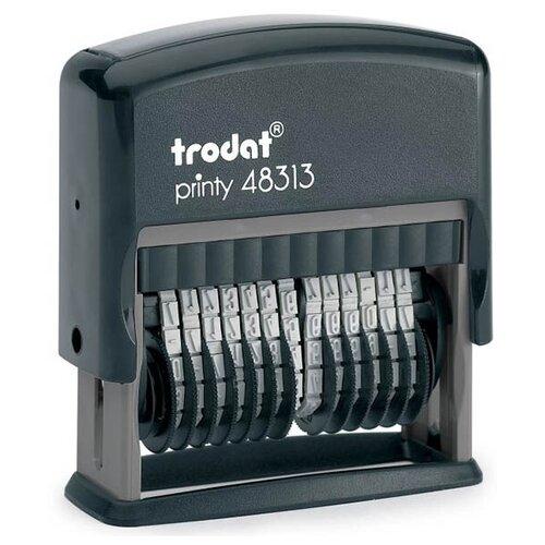 Фото - Нумератор Trodat 13-разрядный 42х3,8mm 48313 Black 53198 нумератор trodat 4836 printy черный